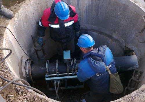 Прокладка трубопровода. Монтаж систем водоснабжения, отопления и канализации в Сургуте