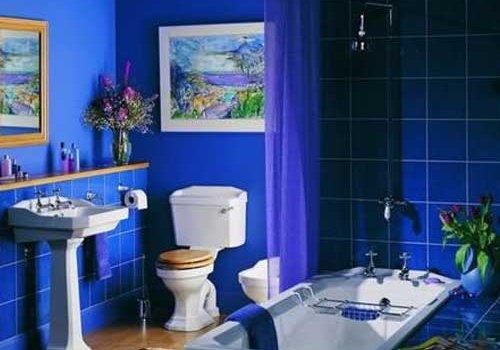 Туалет, ванная комната под ключ